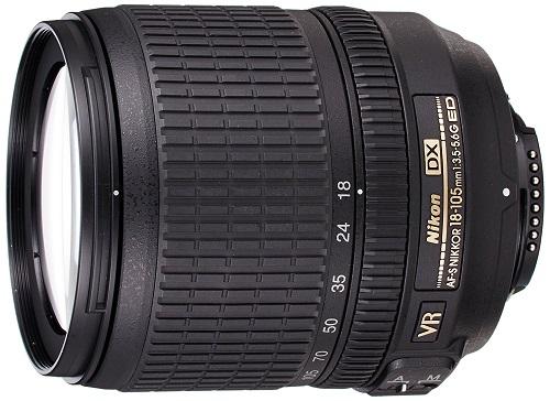 展示品 Nikon ニコン AF-S DX NIKKOR 18-105mm f/3.5-5.6G ED VR メーカー保証1年付