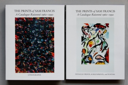 書籍 中古 サムフランシス 1960-1990 リトグラフ カタログ・レゾネ 2冊セット