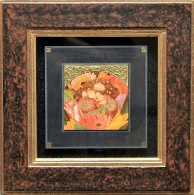 10×10cm 「トロイメライ」 鈴木和道 絵画  ミニアチュール すずきかずみち