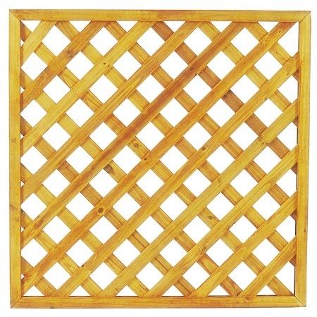 エコランドガーデンラティス ナテュラル EWO-49N 900×900 (8枚セット)【園芸専門店 ガーデニングの森】