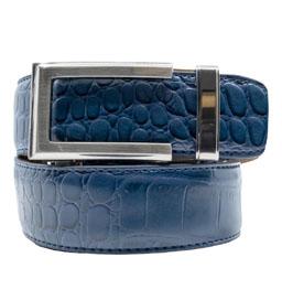 Premium Dress Belt 2.0 Alligator Navy ラチェット式ベルト