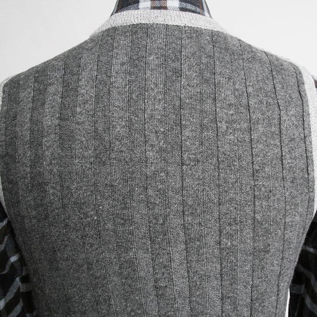 FIDATO (fidato) rib toggle knit 250709 05P24Oct15 grey red black