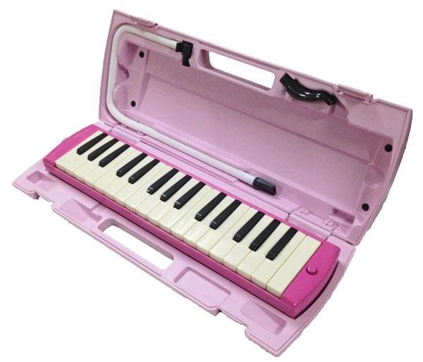 全品最安値に挑戦 音階シール付き YAMAHA ヤマハ P-32EP どれみシール 新モデル smtb-kd 新作送料無料 ピンク 32鍵盤ピアニカ 鍵盤ハーモニカ
