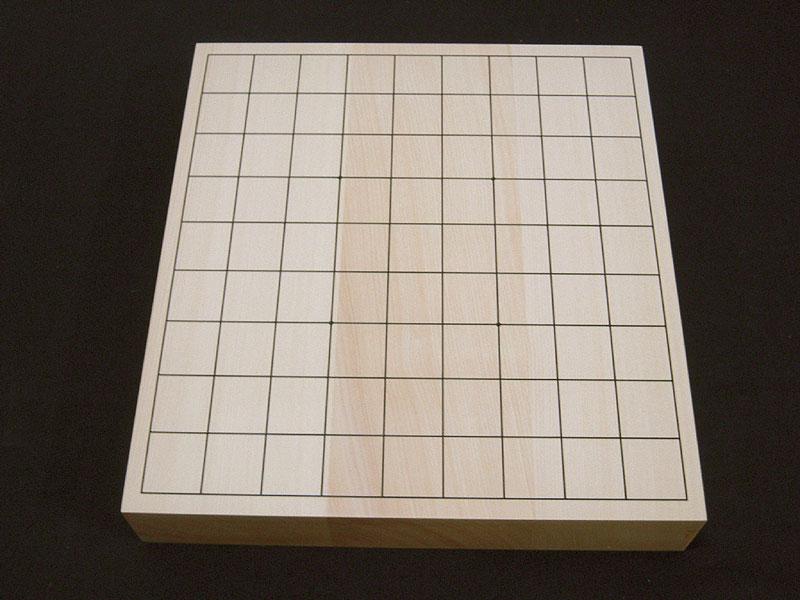 【エントリーでポイント5倍!】将棋盤 卓上 ヒバ材 2寸(20号) 竹ランク