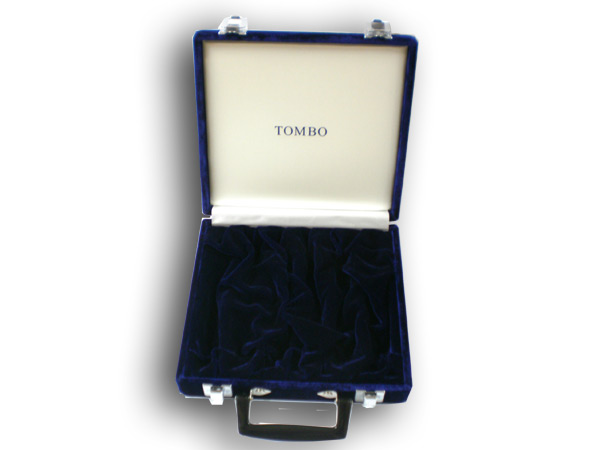 TOMBO No.HC-6S 複音21穴、22穴専用キャリングケース<6本入豪華ハードケース>高級 モケット貼 トンボ【smtb-kd】