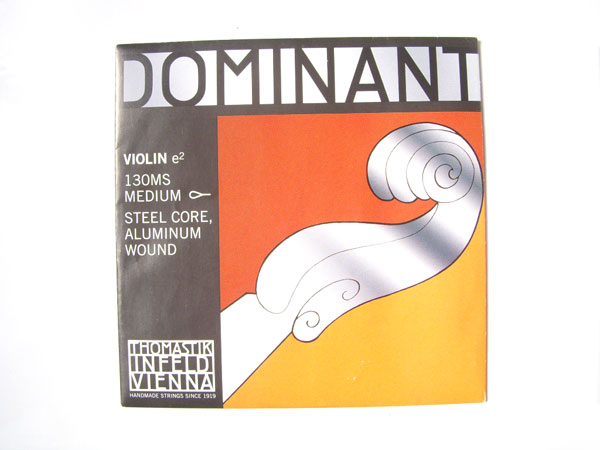 バイオリン弦 ドミナント E130MS Dominant No.130MS セール特価 e2 E線 アルミ巻 smtb-kd トマスティック社 THOMASTIK 直輸入品激安 スチール 4 ループエンド