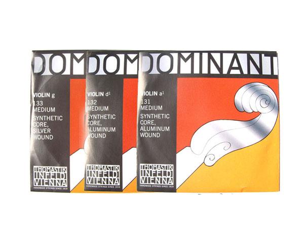 バイオリン弦 ドミナント 安全 春の新作 ADG線セット Dominant 1 トマスティック社 16 smtb-kd THOMASTIK