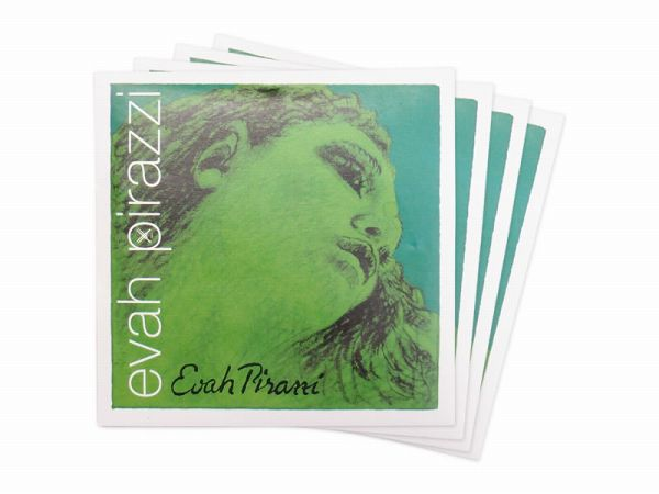 Pirastro Evah Pirazzi バイオリン弦セット EADGセット(E3136ループエンドφ0.26,A4192,D4193,G4194) 4/4用 ピラストロ エヴァ・ピラッジ