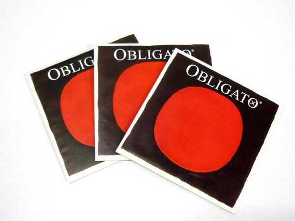 バイオリン弦 PIRASTRO OBLIGATO ADG線セット A4112,AD4113,G4114 3 いよいよ人気ブランド 2サイズ用 ピラストロ 1 4 オブリガート 数量限定アウトレット最安価格