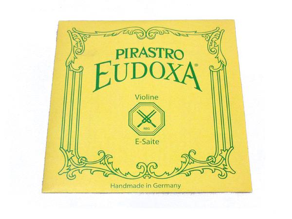 バイオリン弦 PIRASTRO EUDOXA E3147 4 スチール ピラストロ E線 『4年保証』 ボールエンド オイドクサ セール特価