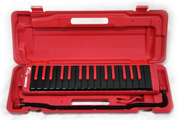 【ラッピング無料!】HOHNER FireMelodica レッド ファイヤーメロディカ 32鍵盤 鍵盤ハーモニカ スチューデント ホーナー【楽ギフ_包装選択】【P2】