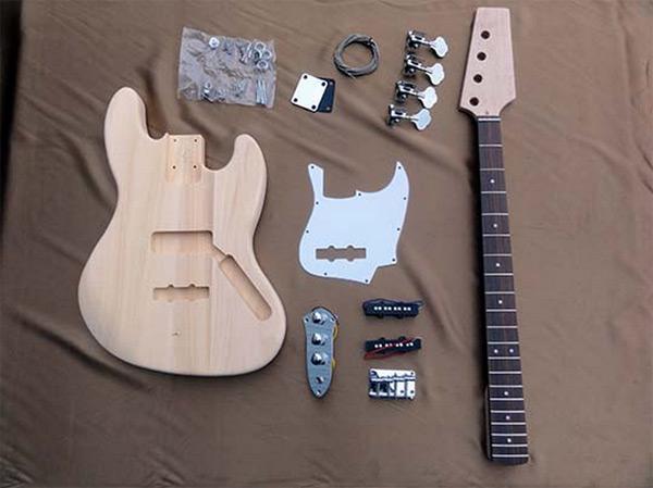 【ラッピング無料!】HOSCO ベースギター組立キット ER-KIT-JB ジャズベースタイプ 楽器組み立てキット ホスコ【楽ギフ_包装選択】【smtb-kd】【P2】