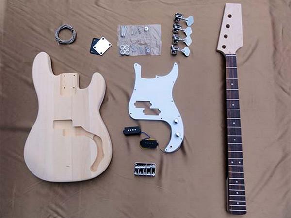 【ラッピング無料!】HOSCO ベースギター組立キット ER-KIT-PB プレシジョンベースタイプ 楽器組み立てキット ホスコ【楽ギフ_包装選択】【smtb-kd】【P2】