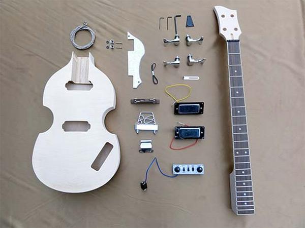 【ラッピング無料!】HOSCO バイオリンベース組立キット ER-KIT-VB 楽器組み立てキット ホスコ【楽ギフ_包装選択】【smtb-kd】【P2】