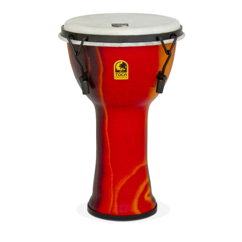 TOCA Toca Products Djembes SFDMX-9F Freestyle Mechanically Tuned Djembe 9inch, Fiesta Red ジャンベ 9インチ レッド Percussion パーカッション SFDMX9F【smtb-KD】【P2】