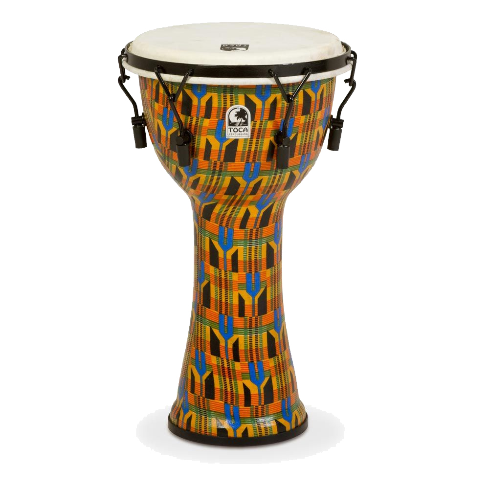 TOCA Toca Products Djembes SFDMX-10K Freestyle Mechanically Tuned Djembe 10inch, Kente Cloth ジャンベ 10インチ Percussion パーカッション SFDMX10K【smtb-KD】【P2】