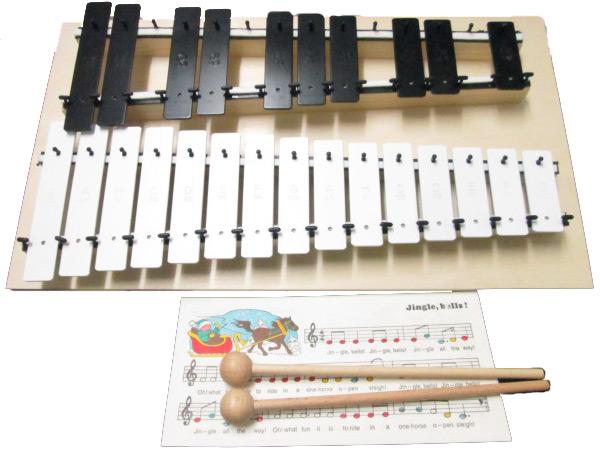 【ラッピング無料!】ゴールドン GD11080 メタロフォン(25音) 鉄琴 メタロホン goldon NAKANO ナカノ 楽器玩具 知育玩具【楽ギフ_包装選択】【P2】