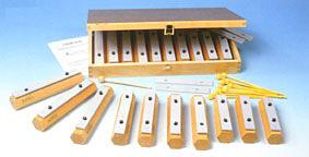 【ラッピング無料!】ゴールドン GD11605 バーチャイムセット 木箱入り goldon NAKANO ナカノ 楽器玩具 知育玩具【選択】【P5】