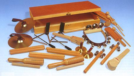 【ラッピング無料!】ゴールドン GD30140 パーカッションセット 木箱入り goldon NAKANO ナカノ 楽器玩具 知育玩具【選択】【P5】