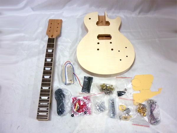 【ラッピング無料!】HOSCO エレキギター組立キット ER-KIT-LP レスポールタイプ 楽器組み立てキット ホスコ【楽ギフ_包装選択】【smtb-kd】【P2】