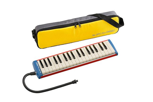 【ラッピング無料!】SUZUKI M-37C plus アルトメロディオン 鍵盤ハーモニカ 37鍵盤 鈴木楽器 スズキ楽器楽ギフ_包装選択】【smtb-KD】