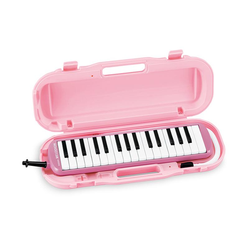 【ラッピング無料!】SUZUKI MXA-32P+どれみシール付 ピンク アルトメロディオン 鍵盤ハーモニカ 32鍵盤 鈴木楽器 スズキ楽器【楽ギフ_包装選択】【smtb-KD】