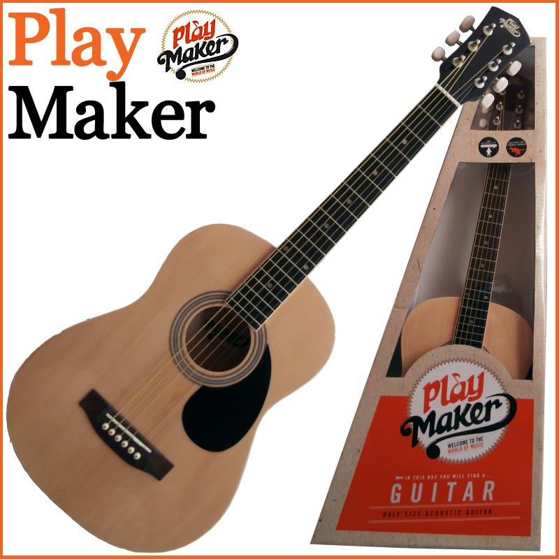 PlayMaker PMSA12NT 1/2 ACOUSTIC GUITAR ミニアコースティックギター プレイメーカー【楽ギフ_包装選択】【smtb-KD】