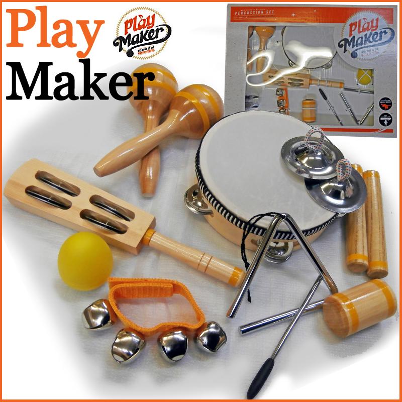 PlayMaker PMSET4 PERCUSSION SET パーカッションセット プレイメーカー【楽ギフ_包装選択】【smtb-KD】