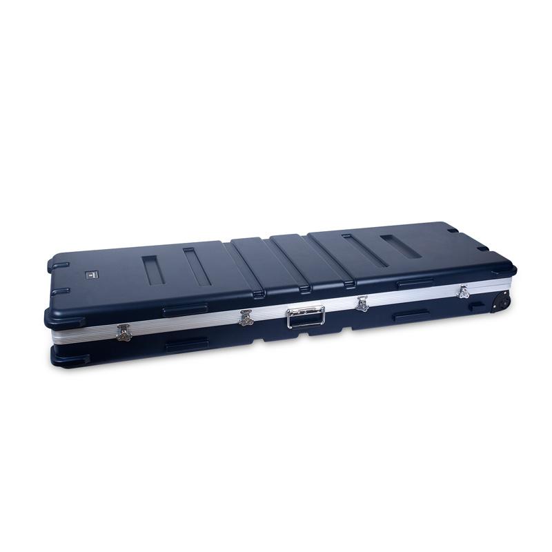 【エントリーでポイント5倍!】CROSSROCK 72鍵盤/88鍵盤 キーボード用ハードケース CRA888K BL Dark Blue クロスロック【smtb-KD】