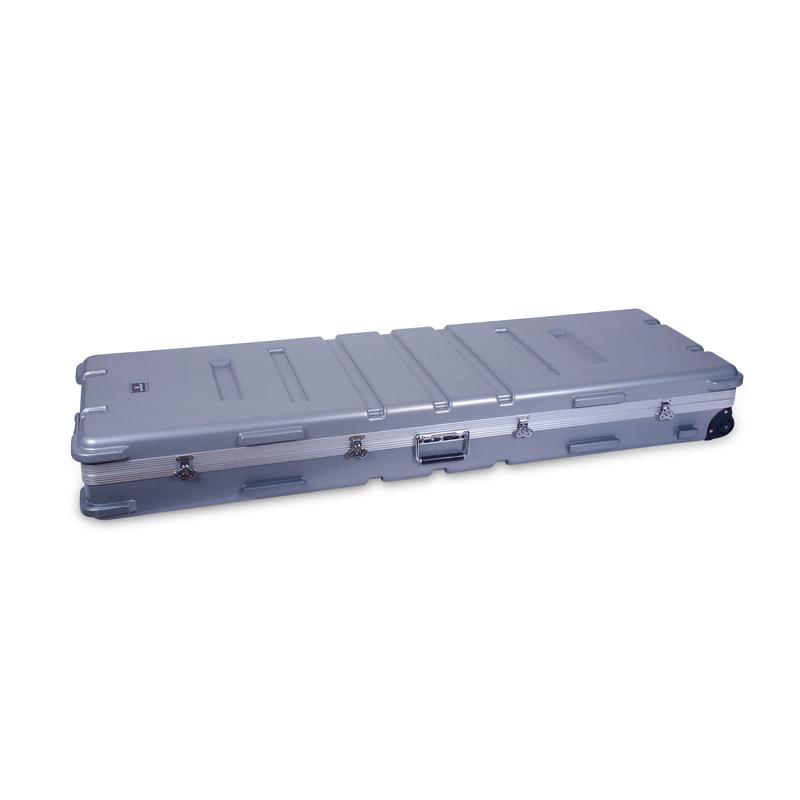 【エントリーでポイント5倍!】CROSSROCK 72鍵盤/88鍵盤 キーボード用ハードケース CRA888K SL Silver クロスロック【smtb-KD】