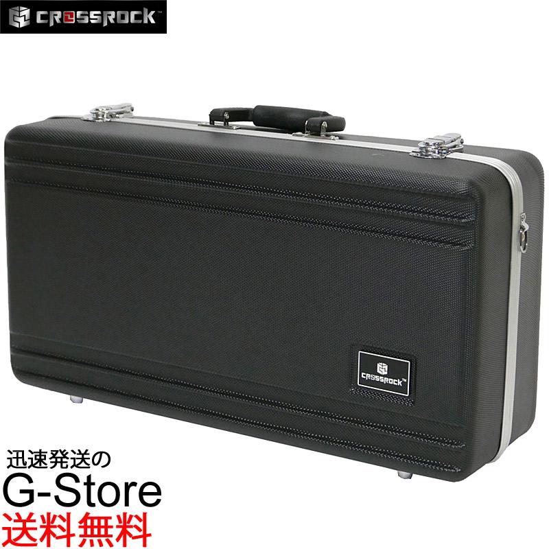CROSSROCK トランペット用ハードケース CRA860TRBK Black ABS樹脂製 クロスロック【smtb-KD】