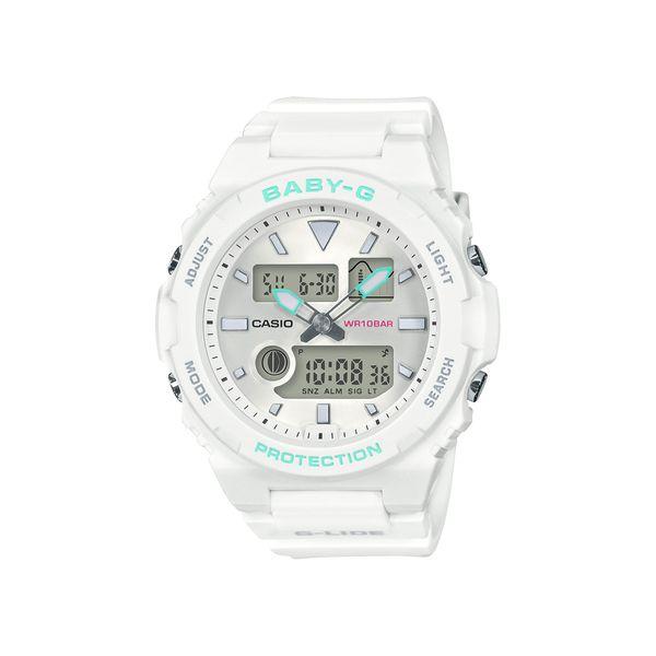 CASIO カシオ Baby-G ベビージー BABY-G G-LIDE ジーライド ホワイト BAX-100-7AJF 腕時計