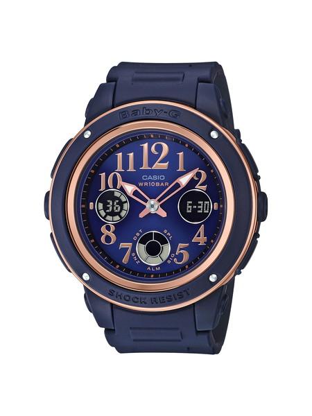 CASIO カシオ BABY-G ベビージー BASIC ベーシック レディース ネイビー ピンク BGA-150PG-2B2JF 腕時計