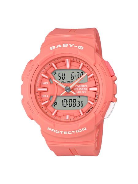【新作】【新製品】【たっぷりポイントMAX 10倍! おトクにGET!!】【送料無料】【Baby-G(ベビージー)】【~for running~(フォア ランニング)】【BGA-240BC-4AJF】【時計 腕時計】