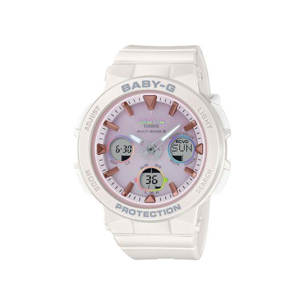 【予約注文】CASIO カシオ BABY-G ベビージー BEACH TRAVELER SERIES ビーチトラベラーシリーズ ホワイト レディース BGA-2500-7A2JF 腕時計
