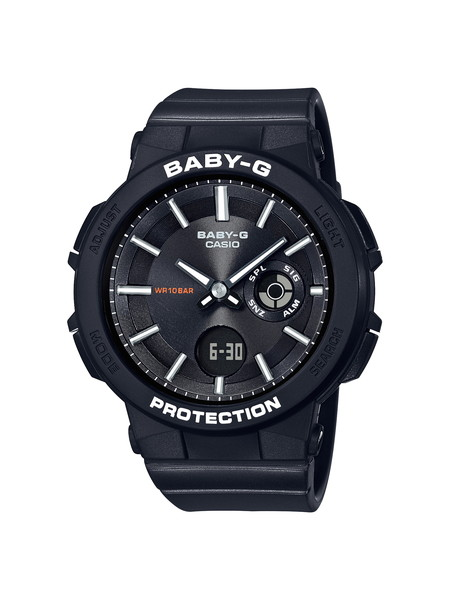 CASIO カシオ BABY-G ベビージー WANDERER SERIES ワンダラー・シリーズ ブラック レディース BGA-255-1AJF 腕時計