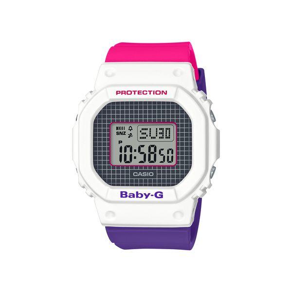 CASIO カシオ BABY-G ベビージー Throwback 1990s スローバック1990 レディース BGD-560THB-7JF 腕時計