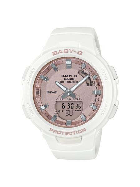 CASIO カシオ BABY-G ベビージー G-SQUAD ジースクワッド ホワイト レディース BSA-B100MF-7AJF 腕時計