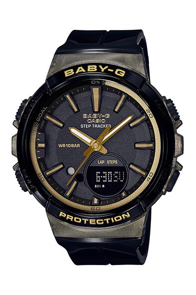 【たっぷりポイントMAX 10倍! おトクにGET!!】【送料無料】【国内正規品】 【BABY-G】【STEP TRACKER】【BGS-100GS-1AJF】【時計 腕時計】