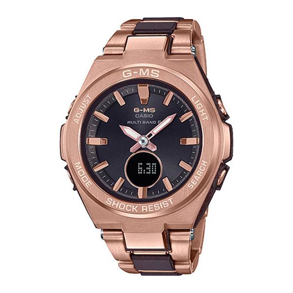 CASIO カシオ BABY-G ベビージー G-MS ジーミズ ピンクゴールド ブラウン レディース MSG-W200CG-5AJF 腕時計