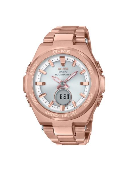 正規品 送料無料 ポイント10倍 CASIO カシオ BABY-G 通販 激安 ベビージー 腕時計 レディース MSG-W200DG-4AJF G-MS ピンクゴールド ジーミズ 期間限定で特別価格