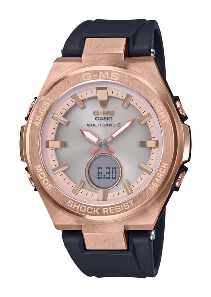 【1,000円OFFクーポン】CASIO カシオ BABY-G ベビージー G-MS ジーミズ レディース ピンク ブラック MSG-W200G-1A1JF 腕時計