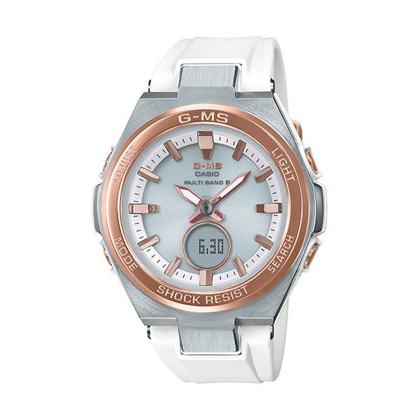 BABY-G ベビージー G-MS ジーミズ レディース シルバー MSG-W200RSC-7AJF 腕時計