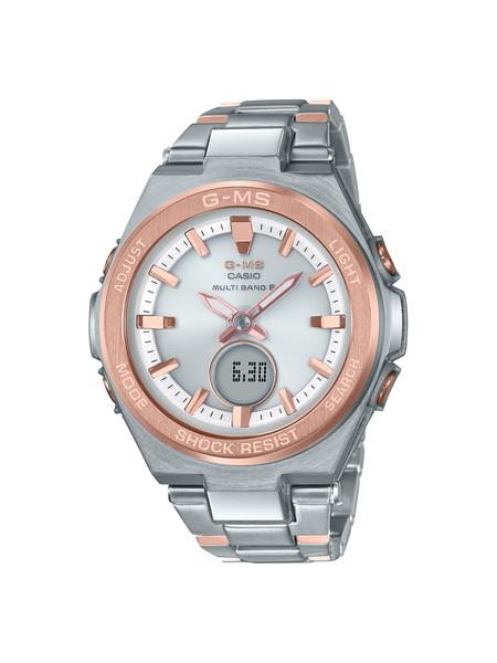 CASIO カシオ BABY-G ベビージー G-MS ジーミズ シルバー レディース MSG-W200SG-4AJF 腕時計