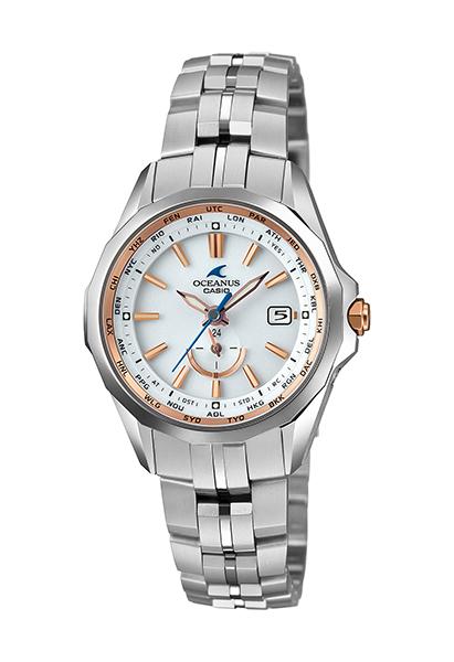 【たっぷりポイントMAX10倍! ショッピングローンMAX60回無金利】【送料無料】【国内正規品】 OCEANUS(オシアナス)OCW-S340-7AJF【時計 腕時計】