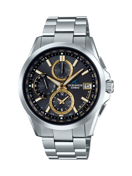 【新作】【新製品】【たっぷりポイントMAX10倍! ショッピングローンMAX60回無金利】【送料無料】【国内正規品】 【OCEANUS(オシアナス)】【OCW-T2600-1A3JF】【時計 腕時計】