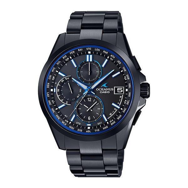 【たっぷりポイントMAX10倍! ショッピングローンMAX60回無金利】【送料無料】【国内正規品】OCEANUS(オシアナス)OCW-T2600B-1AJF【時計 腕時計】