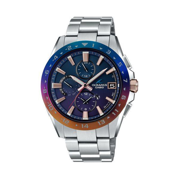 CASIO カシオ OCEANUS オシアナス OCEANUS 15th Anniversary Model オシアナス15周年アニバーサリーモデル 世界限定1,000本 Classic Line クラシックライン メンズ OCW-T3000C-2AJF 腕時計