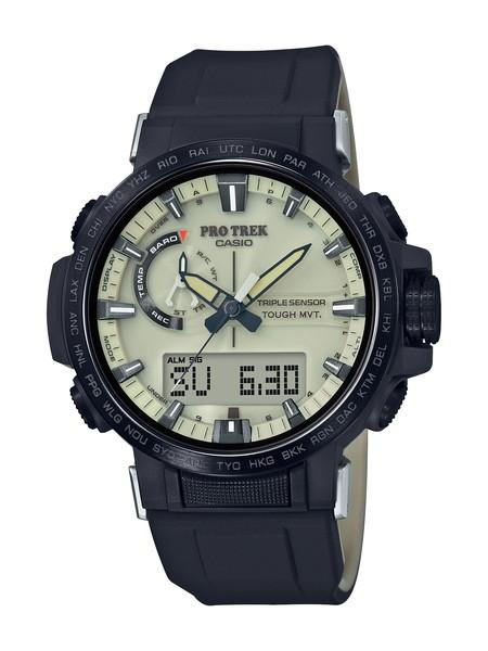 CASIO カシオ PROTREK プロトレック PRW-60 Series クライマーライン メンズ ブラック PRW-60YGE-1AJR 腕時計
