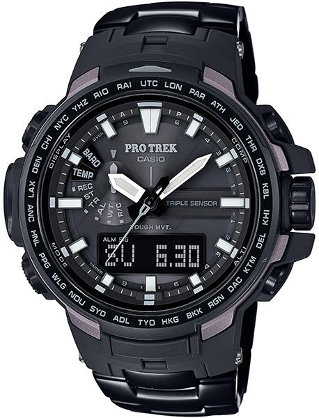 【たっぷりポイントMAX10倍! ショッピングローンMAX60回無金利】【送料無料】【国内正規品】PRO TREK(プロトレック)PRW-6100YT-1JF【時計 腕時計】